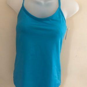 Athleta turquoise workout tank bra